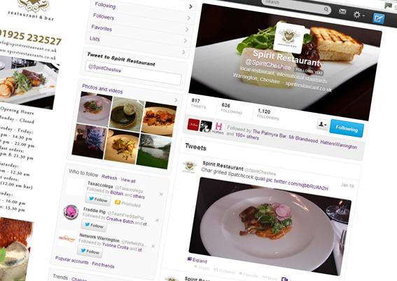 Spirit Restaurant Twitter Profile