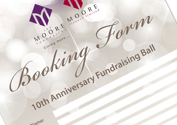 Moore Finance Annual Ball Booking Form
